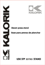 Kalorik USK STP 23873 Manual