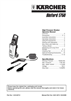Karcher 1750 Specifications