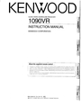 Kenwood 1090VR Manual