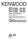 Kenwood DPF-R 3030 Instruction Manual