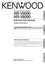 Kenwood KR-V8090 Instruction Manual