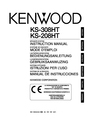 Kenwood KS-208HT Instruction Manual