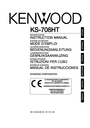 Kenwood KS-708HT Instruction Manual