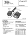 Kenwood KSC-24 Service Manual