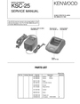 Kenwood ksc-25 Service Manual