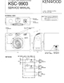 Kenwood KSC-9903 Manual