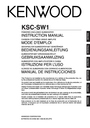 Kenwood KSC-SW1 Instruction Manual