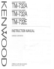 Kenwood TM-732A Manual