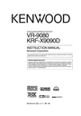 Kenwood KRF-X9090D Manual