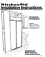 KitchenAid 2000-101 Installation Instructions