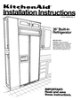 KitchenAid 2000491 Installation Instructions