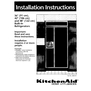 KitchenAid 2003757 Installation Instructions
