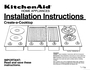 KitchenAid 3182048 Installation Instructions