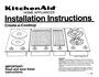 KitchenAid 3186523 Installation Instructions