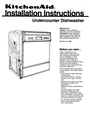 KitchenAid 4171206 Installation Instructions