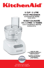 KitchenAid 4KFP740 Manual