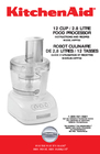 KitchenAid 4KFP750 Manual