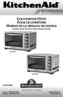 KitchenAid KCO273SS Manual