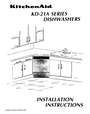 KitchenAid KD-27A Installation Instructions