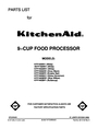 KitchenAid 4KFP740WH1 Manual