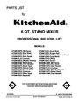 KitchenAid 4K Manual
