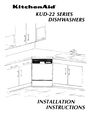 KitchenAid KUD-22 Manual