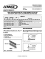 Lennox Hearth 3-Piece Louver Kit Installation Instructions