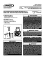 Lennox Hearth 42 Instruction Sheet