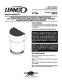 Lennox Hearth 4.5HTSK Installation Instructions