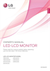 LG Electronics 23EN33S Owner Manual