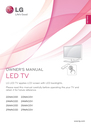 LG Electronics 22MA33D Owner Manual