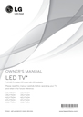 LG Electronics 39LY750H Owner Manual