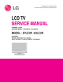 LG Electronics 37LC2R Service Manual