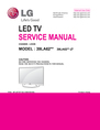 LG Electronics 39LA62**-Z* Service Manual