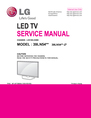LG Electronics 39LN54**-Z* Service Manual