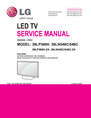 LG Electronics 39LN548C Service Manual