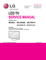 LG Electronics 39LN549E-ZA Service Manual