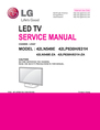 LG Electronics 42LP630H Service Manual
