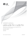 LG Electronics 42LS349C Owner Manual