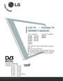 LG Electronics 42 2L LF F6 Owner Manual