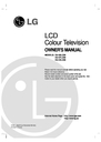 LG Electronics DU-37LZ30 Owner Manual