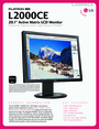 LG Electronics L2000CE Manual
