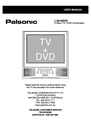 Palsonic 3415DVD User Manual
