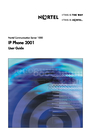Panasonic 2001 Manual