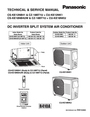 Panasonic CU-KE12NK1 Service Manual