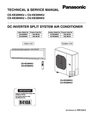 Panasonic CU-KE30NKU Service Manual