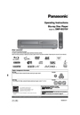Panasonic DMP-BD70V Operating Instructions