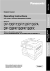 Panasonic 135FP Manual