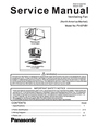 Panasonic FV-07VB1 Service Manual