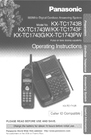 Panasonic KX-TC1743W Manual